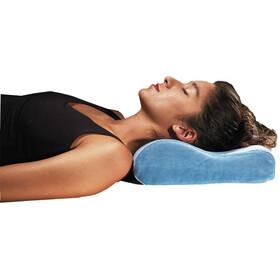 Cocoon Memory Foam Travel Pillow slate blue